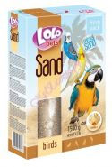 Lolo Pets Песок для птиц с ракушками (1,5 кг)