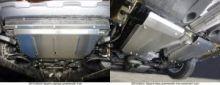 Защита днища, ТСС, (картера и кпп + бак) алюминий 4мм