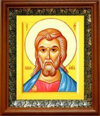 Малахия, пророк (19х22), светлый киот