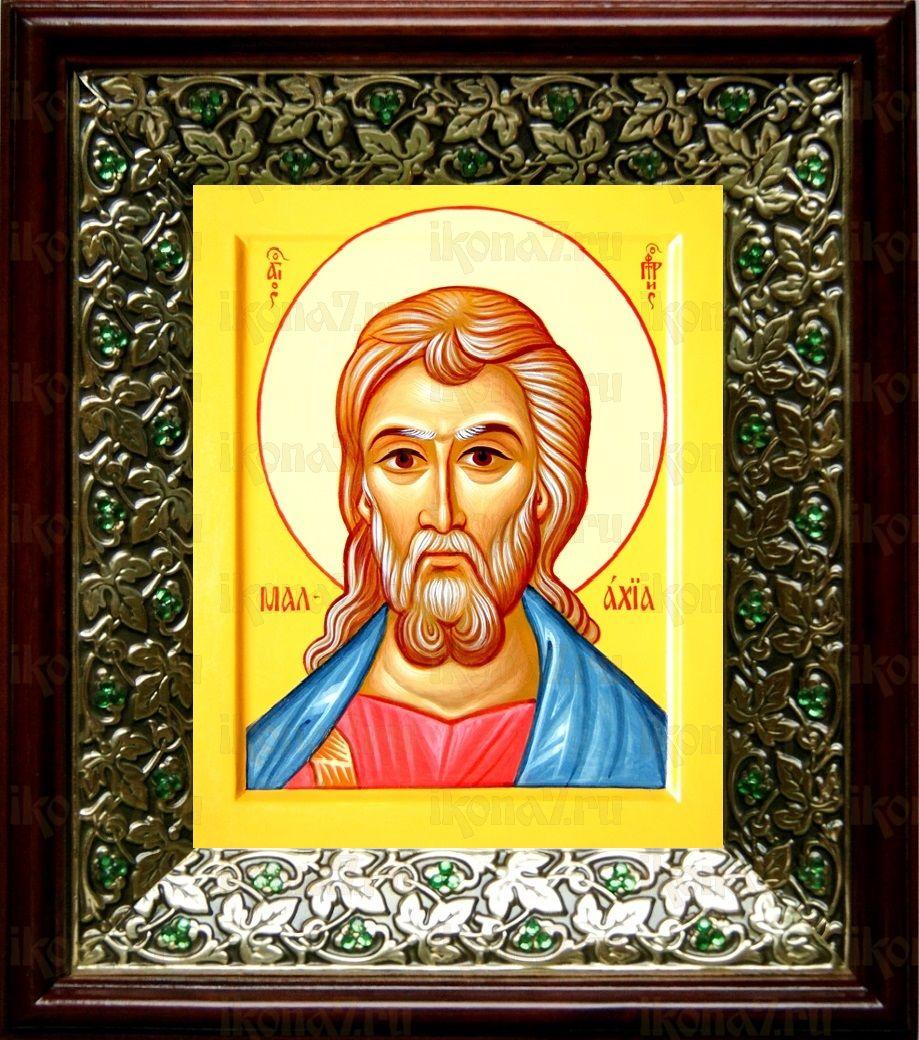 Лука, апостол (21х24), киот со стразами