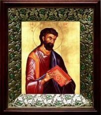 Марк, апостол (21х24), киот со стразами