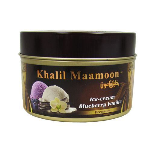 Табак для кальяна Khalil Maamoon 250 гр Ice Cream Blueberry & Vanilla