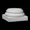 Колонна Европласт Лепнина база 1.13.700 B226хS225хH116 мм