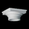 Колонна Европласт Лепнина капитель 1.11.008 B216хS216хH105 мм