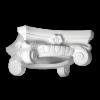 Колонна Европласт Лепнина капитель 1.11.003 B393хS392хH169 мм