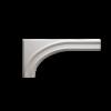 Обрамление Арок Европласт Лепнина 1.55.001 B650хS26хH320 мм
