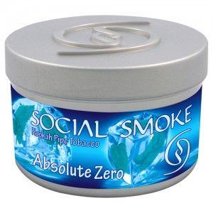 Табак для кальяна Social Smoke Absolute Zero 250 гр