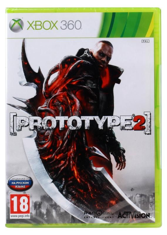 Игра Prototype 2 (Xbox 360, русская версия)