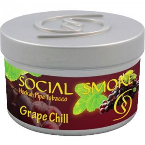 Табак для кальяна Social Smoke Grape Chill 250 гр