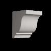 Кронштейн Европласт Лепнина 1.19.003 Ш119хВ152хГ123 мм