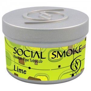 Табак для кальяна Social Smoke Lime 250 гр