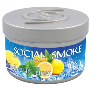 Табак для кальяна Social Smoke Arctic Lemon 250 гр