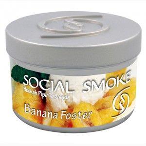 Табак для кальяна Social Smoke Banana Foster 250 гр