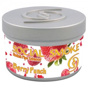 Табак для кальяна Social Smoke Berry Punch 250 гр