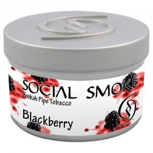 Табак для кальяна Social Smoke Blackberry 250 гр