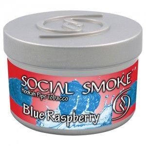 Табак для кальяна Social Smoke Blue Raspberry 250 гр