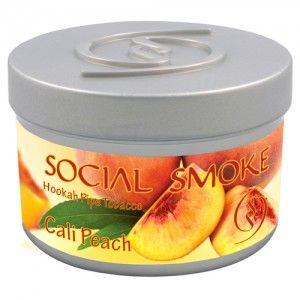 Табак для кальяна Social Smoke Cali Peach 250 гр