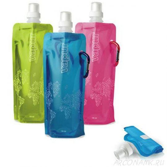 Складная бутылка для воды Varup в подарок при заказе* от 2 500 рублей.