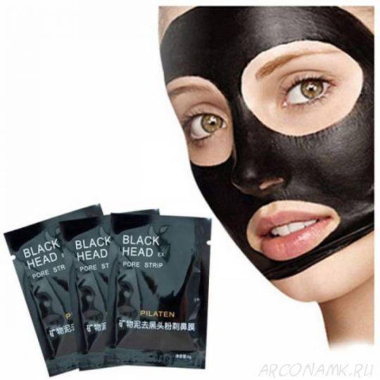 Маска от черных точек на лице Black Head 50 г в подарок при заказе* от 2 500 рублей