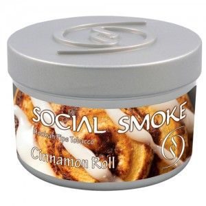 Табак для кальяна Social Smoke Cinnamon Roll 250 гр