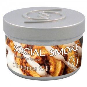 Табак для кальяна Social Smoke Cinnamon Roll 250 гр