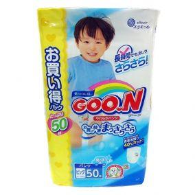 Подгузники-трусики GOON XL 12-20кг для мальчиков 50шт [Мега-пак]