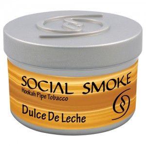 Табак для кальяна Social Smoke Dulce De Leche 250 гр