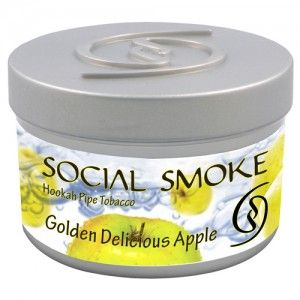 Табак для кальяна Social Smoke Golden Delicious Apple 250 гр