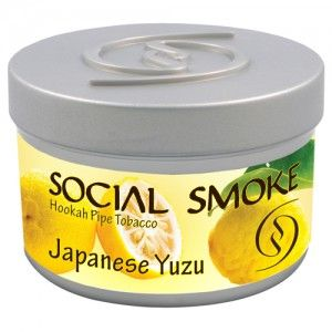 Табак для кальяна Social Smoke Japanese Yuzu 250 гр