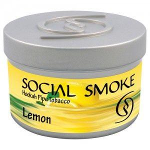 Табак для кальяна Social Smoke Lemon 250 гр
