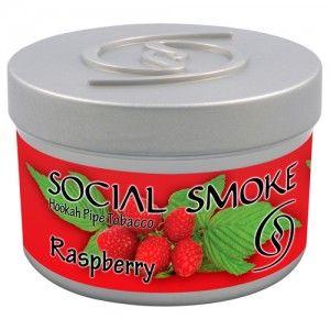 Табак для кальяна Social Smoke Raspberry 250 гр