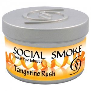 Табак для кальяна Social Smoke Tangerine Rush 250 гр
