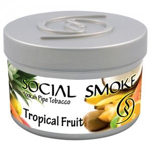 Табак для кальяна Social Smoke Tropical Fruit 250 гр