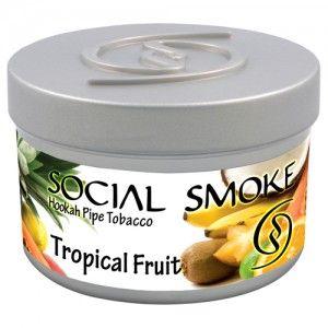 Табак для кальяна Social Smoke Tropical Fruit 250 гр