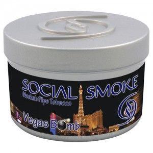 Табак для кальяна Social Smoke Vegas Bomb 250 гр