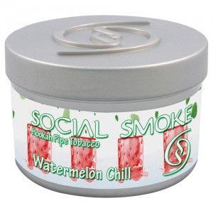 Табак для кальяна Social Smoke Watermelon Chill 250 гр