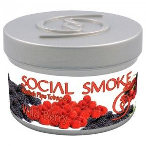 Табак для кальяна Social Smoke Wild Berry 250 гр