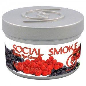 Табак для кальяна Social Smoke Wild Berry 250 гр