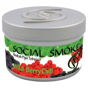 Табак для кальяна Social Smoke Wild Berry Chill 250 гр