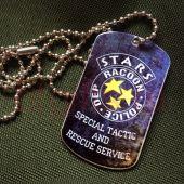 Жетон STARS Resident evil