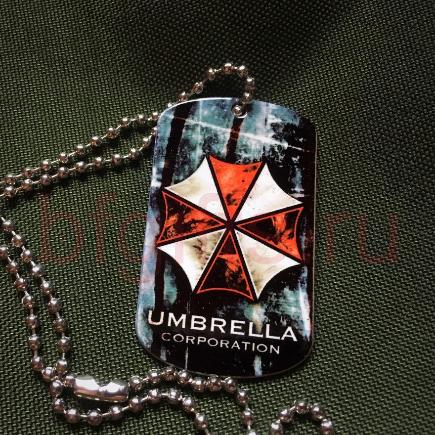 Жетон UMBRELLA Resident evil
