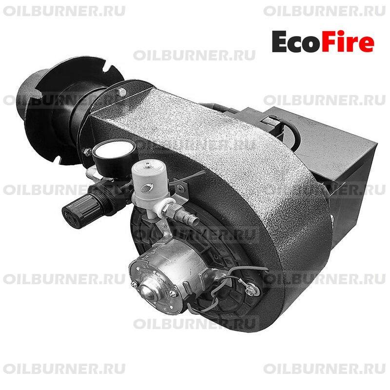 EcoFire 25 мощность до 25 кВт с топливоподающим агрегатом.