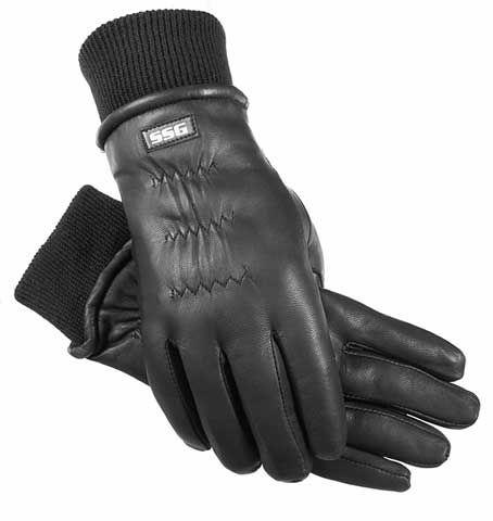 Перчатки кожаные зимние, с манжетой. Wahlsten. Размеры XS-XXL