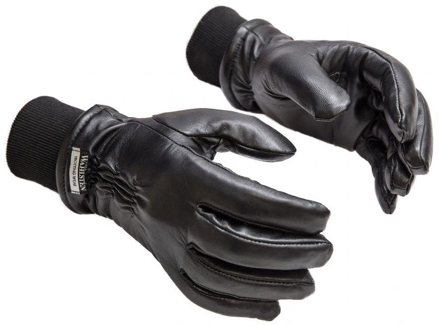 Перчатки кожаные зимние Pro, с манжетой. Wahlsten. Размеры XS-XXL