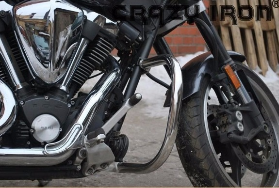 [CRAZY IRON] Дуги для Yamaha XV1700 Warrior 2002-2009
