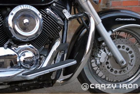 [CRAZY IRON] Дуги для Yamaha XVS1100 Dragstar / V-Star 1999-2010