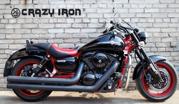 [CRAZY IRON] Дуги для Kawasaki VN1500/1600 Mean Streak 2002-2008