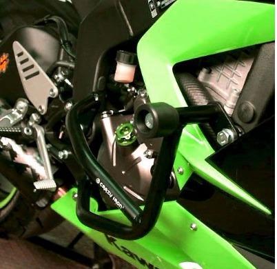 [CRAZY IRON] Дуги для Kawasaki ZX-6R Ninja 2013-2016