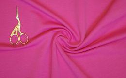 Ярко-розовый футер 2-х нитка