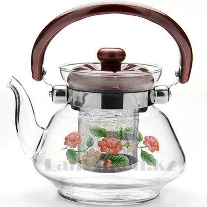 """Заварочный стеклянный чайник """"Tea and Coffee Pot"""""""